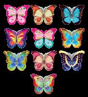 Бабочки. Набор №6 из 40 штук