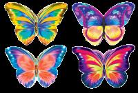 Бабочки. Набор из 40 штук